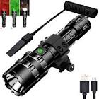 1600Lumens 5Modes USB Rechargeable Brightness Long-rang LED Waterproof  Flashlight