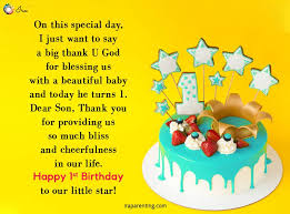 awesome st birthday wishes for baby boy ira parenting