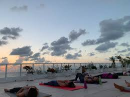 bliss living and yoga seven mile beach