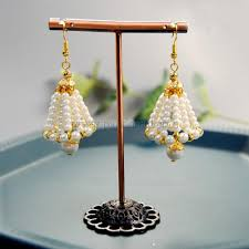 Pearl Bell Earrings | Pandahall Inspiration Projects