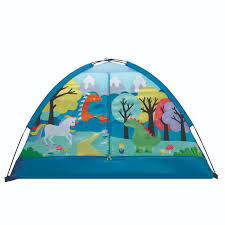 Crckt Kids Indoor Camping Play Tent With Majestic Design Print 60 L X 36 W X 36 H Walmart Com Walmart Com