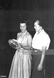 JUN 21 1954; Pat Ward and Mrs. Iva Ward, daughter and wife of Fred... News  Photo - Getty Images