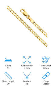 10 best real gold chains for women 2020