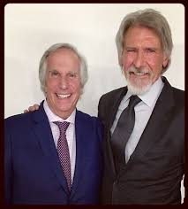 The Fonz and Han Solo 🔝🔝👍👍👍🇺🇸 🗺 🎬 - Henry Winkler and ...