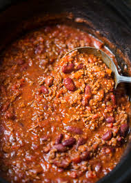 clic beef and bean slow cooker chili