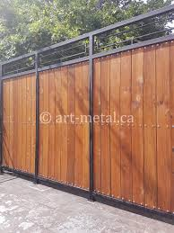 Metal Wrought Iron Privacy Fences In Toronto Gta