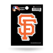 San Francisco Giants 3 X 3 Die Cut Decal Window Car Or Laptop Hub City Sports