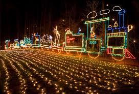 saluda shoals holiday lights on the