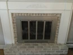 fireplace with aded sponge technique