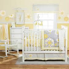 grey yellow bedding grey crib bedding