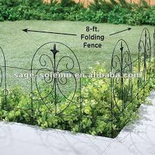 Wire Folding Garden Fence Buy Steel Sectional Garden Fence Small Metal Garden Fence Decorative Wire Garden Fencing Product On Alibaba Com