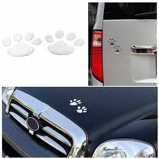 7cm X 6cm 3d Dog Paw Footprint Pvc Car Stickers Decal Dog Bear Cat Animal Foot Print Sticker Car Styling Auto Motorcycle Decor Car Stickers Aliexpress