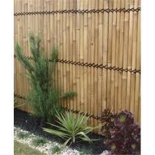Lattice Makers 1800 X 900mm Yellow Bamboo Raft Screen Bunnings Warehouse