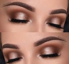 cute makeup styles for brown eyes