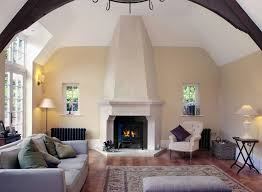 bath stone fireplace and canopy high