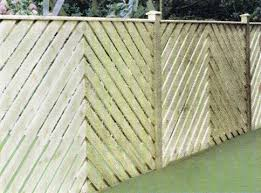 Chevron Fence Panel Bingley Fencing And Timber Timber Fences Furniture Bradford West Yorkshire