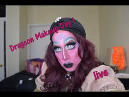 getting ready for nyc drag con day 1