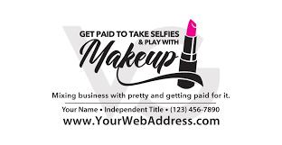 Get Paid To Play With Makeup Decal Vinylglyphics