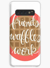 friends waffles work leslie knope quotes case skin for