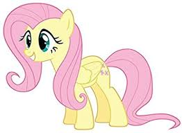 Amazon Com My Little Pony Fluttershy 11 X 7 9 Full Color Vinyl Decal Sticker Sports Outdoors