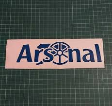 Arsenal Gunners Vinyl Car Sticker Rear Window Side Graphic Decal Bumper Wall Art 3 79 Picclick Uk