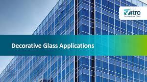 decorative glass s