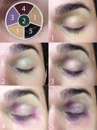 step halloween eye makeup tutorials