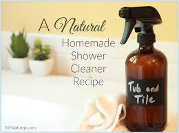 cleaner a natural diy shower tub