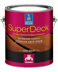 Superdeck Exterior Waterborne Semi Solid Color Stain Sherwin Williams