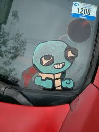 Car Decal Made Me Think Of Squirtle If He Was On Drugs Pokemon