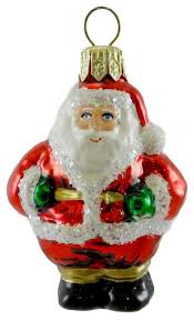 holiday ornament mini s glass