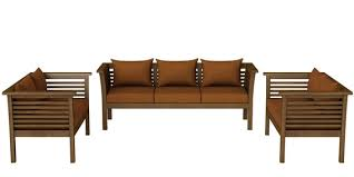 belmond teak wood 3 2 2 sofa set