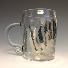 Fern Mug By Sage Churchill Foster Art Glass Mug Artful Home