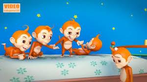 Nhạc thiếu nhi Tiếng Anh vui nhộn Cho Bé ❤ 5 con khỉ ❤ 5 little monkey...   Ảnh  vui, Ảnh vui nhộn, Tiếng anh