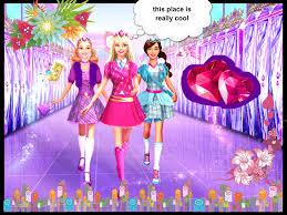 barbie escuela de princesas fan art