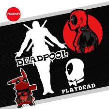 Noizzy Deadpool Figura Car Auto Sticker Decal Play Dead Vinyl Reflective Custom Fashion Black White Window Tuning Motor Styling Car Stickers Aliexpress