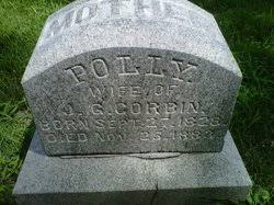"""Mary """"Polly"""" Brooks Corbin (1823-1883) - Find A Grave Memorial"""