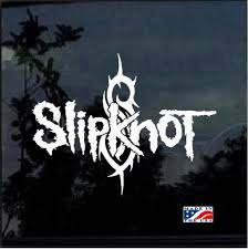 Slipknot Band Decal Sticker Midwest Sticker Shop