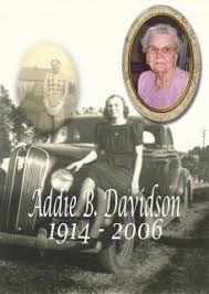 Contributions to the tribute of Addie B. Davidson | Martin Funeral...