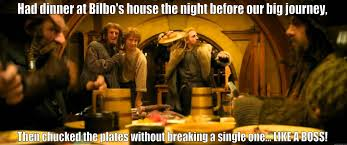 That's What Bilbo Baggins hates - quickmeme