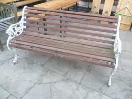 cast iron garden bench seat 245392