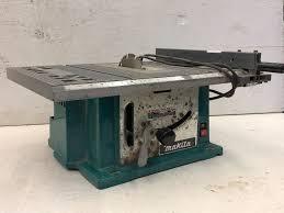 Makita Bench Top Table Saw Tools Equipment Sporting Goods More K Bid
