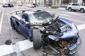 Luxury car owner wrecks his ultra-rare ...