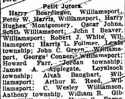CHARLES WESLEY WILLIAMSON - 25 JAN 1915 - Juror - Newspapers.com