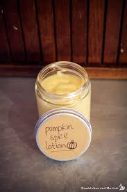 pumpkin e body lotion recipe