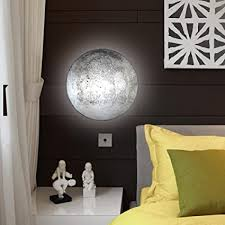 Amazon Com 3d Moon Lamp In My Room Wall Moon Lamp Night Light For Kids Toys Games