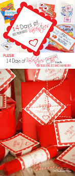 14 days of valentines free printables