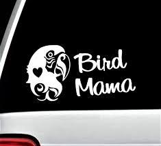 Bird Mama Parrot Decal Sticker For Car Window 8 Inch Bg 309 Etsy Car Stickers Decals Stickers Car Window