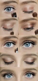 cute simple makeup for brown eyes cat