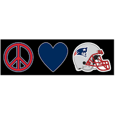 Official New England Patriots Car Decal Patriots Window Decal Window Decal For Cars Nflshop Com